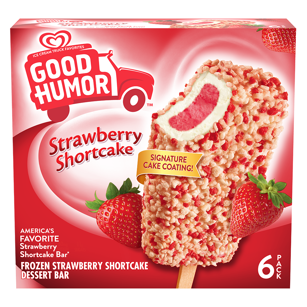 Frozen Birthday Cake Dessert Bar Good Humor