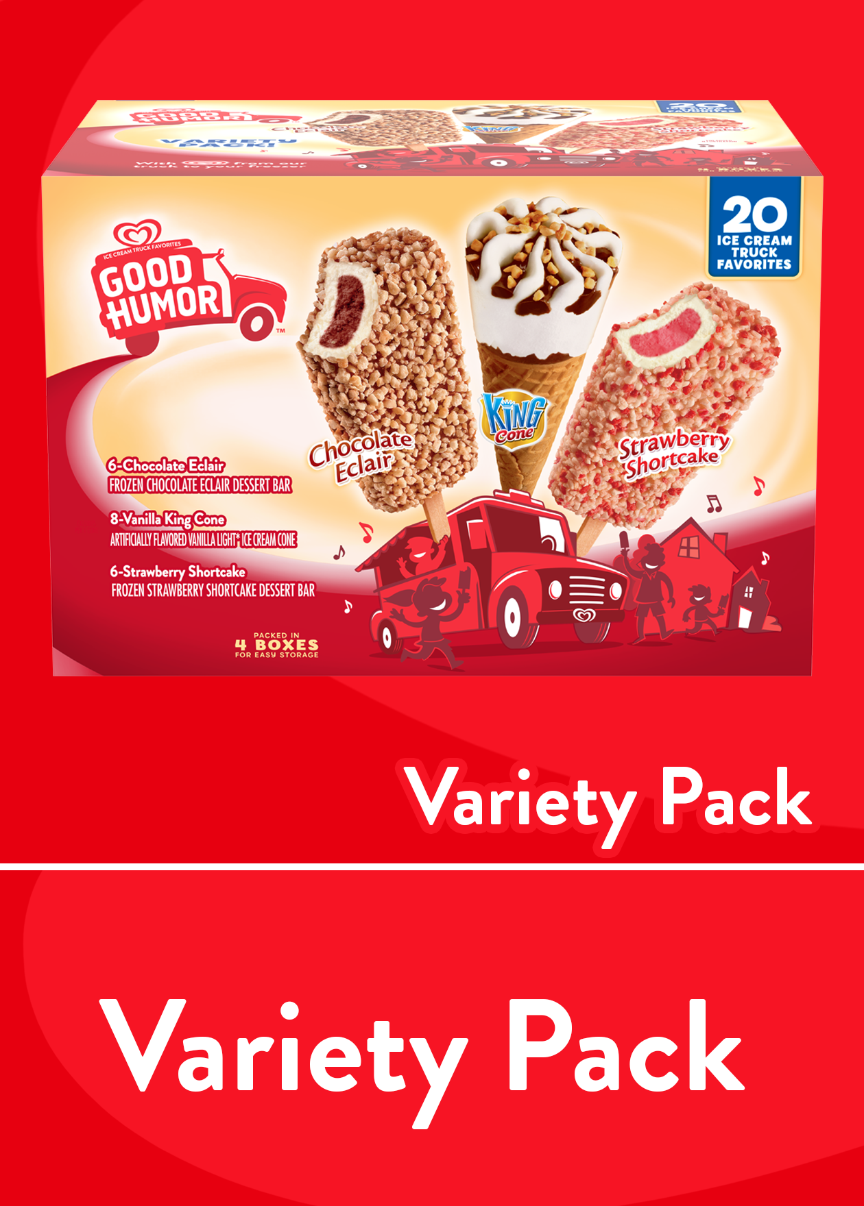 Good Humor Ice Cream Novelties Treats